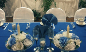 Blue Wedding Table